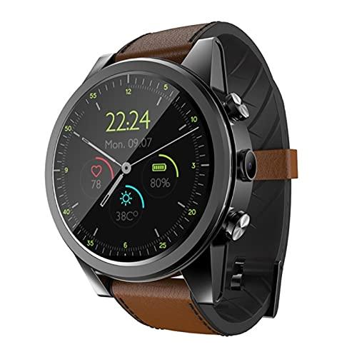 KKZ X360 Luxury 4G Smart Gestore da Uomo Android 3 GB + 32GB IP67 Impermeabile 1,6 Pollici Screen Amoled Schermo AMOLED 600 mAh Battery Smart Watch,B
