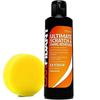 Carfidant Scratch and Swirl Remover - Ultimate Car Scratch Remover - Polish & Paint Restorer - Easily Repair Paint Scratches Scratches Water Spots! Car Buffer Kit
