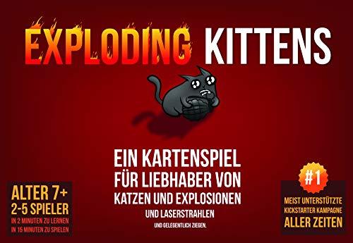 Asmodee Exploding Kittens Bild