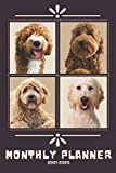 Goldendoodle Monthly Planner 2021-2025: Perfect for Notes and Planning, 5 Years Monthly Planner and Organizer (2021-2025 Calendar, Diary)