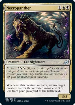 Magic: The Gathering - Necropanther - Ikoria: Lair of Behemoths