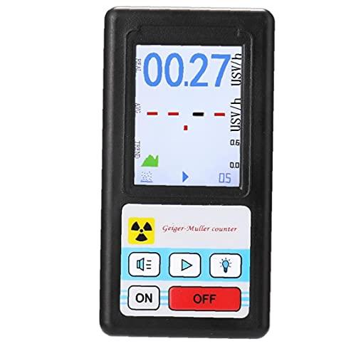 Eaarliyam Portátil Geiger Contador Profesional Detector de radiación Nuclear Digital BR-6 (sin batería) Accesorios industriales