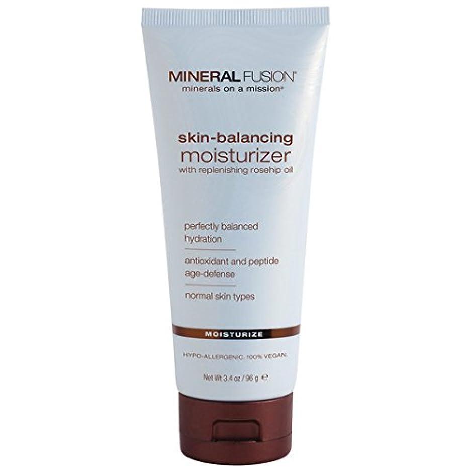 謝るブレーキ供給Mineral Fusion, Skin-Balancing Facial Moisturizer, For Normal Skin Types, 3.4 oz (96 g)