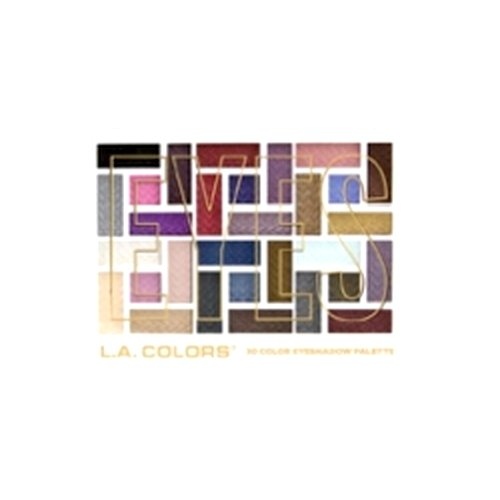(3 Pack) L.A. COLORS 30 Color Eyeshadow Palette - Back To Basics