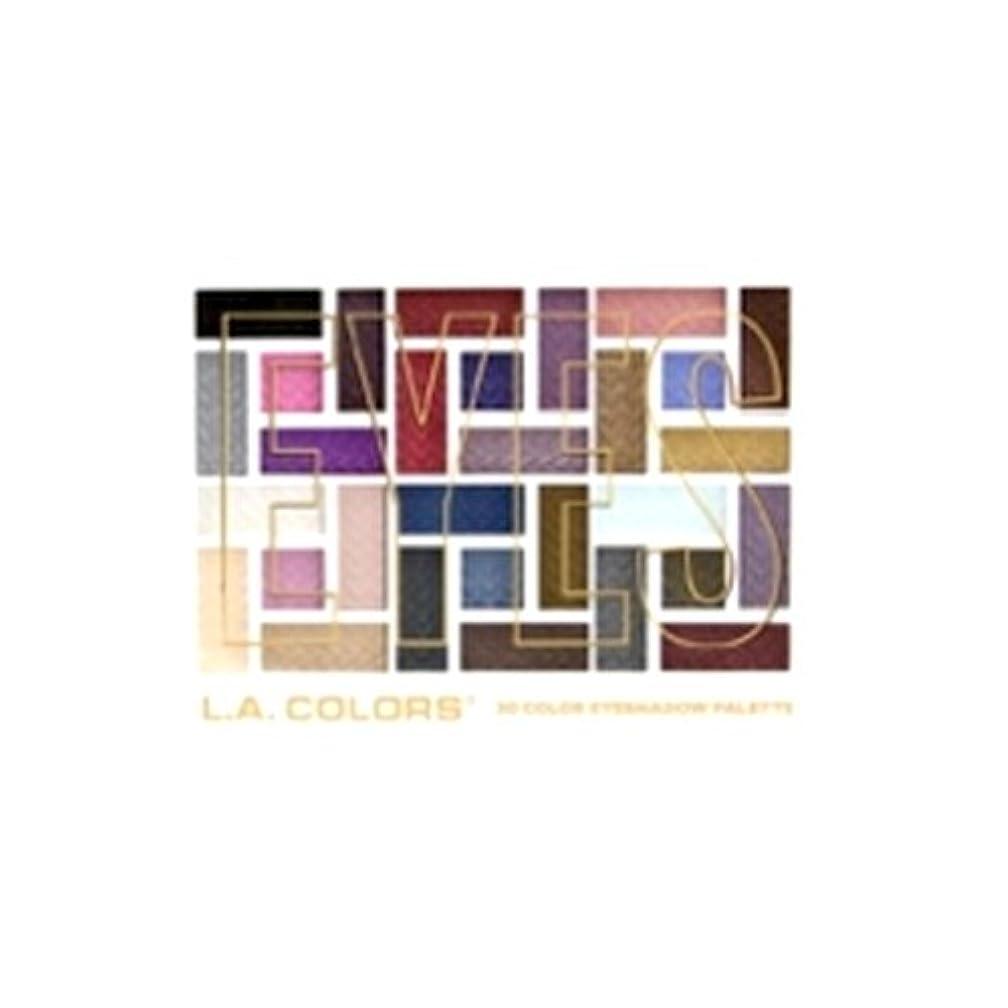 贅沢なロケット中庭(6 Pack) L.A. COLORS 30 Color Eyeshadow Palette - Back To Basics (並行輸入品)