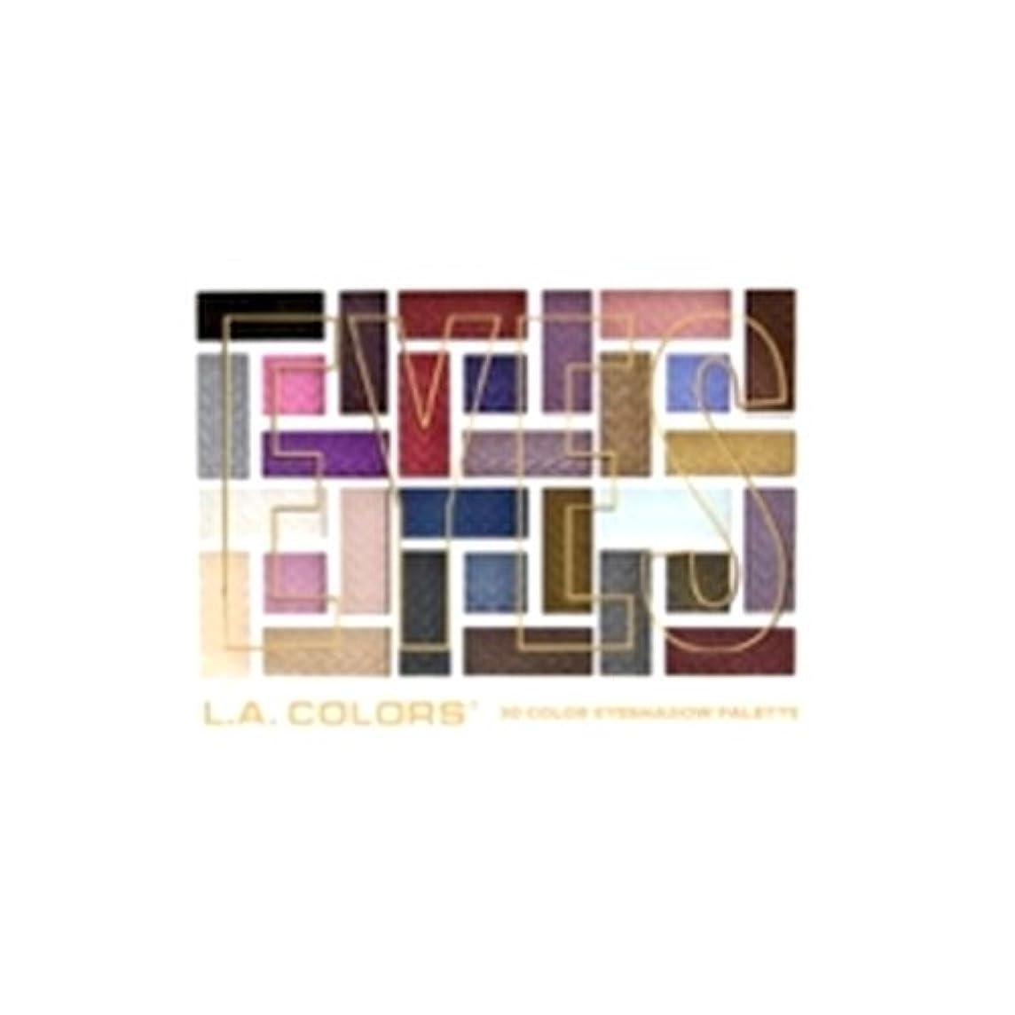 慣習シロクマ少数(3 Pack) L.A. COLORS 30 Color Eyeshadow Palette - Back To Basics (並行輸入品)