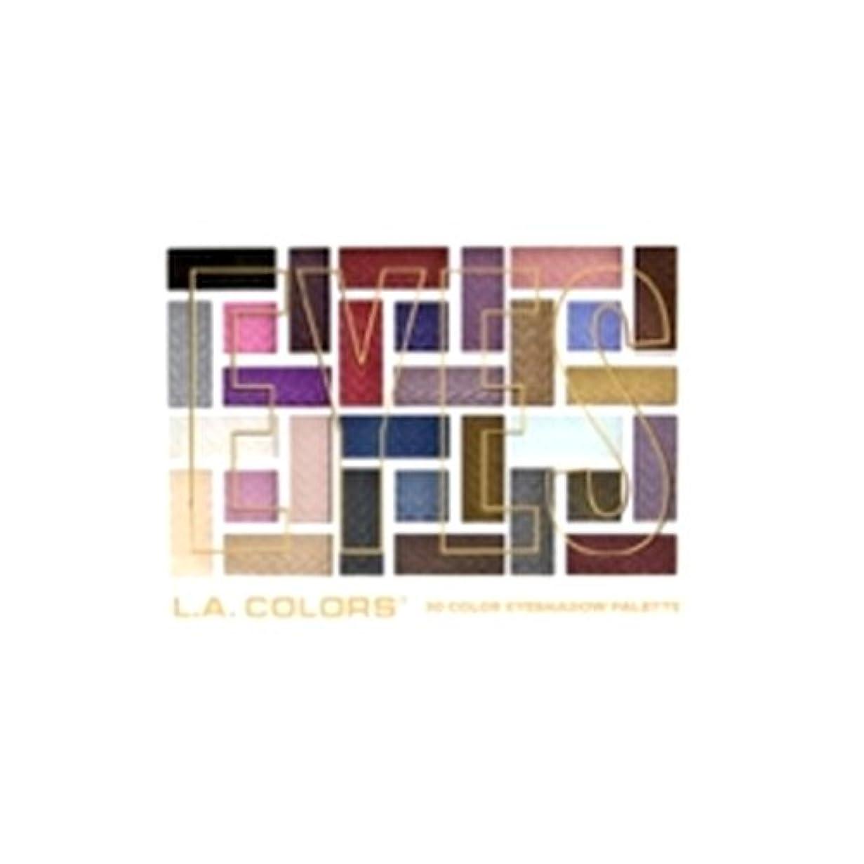 聖職者動機振るう(3 Pack) L.A. COLORS 30 Color Eyeshadow Palette - Back To Basics (並行輸入品)