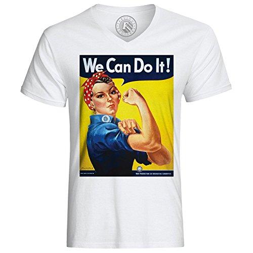 Fabulous T-Shirt We Can Do It Women Femme War Guerre