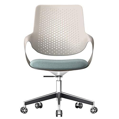 Sillas Silla de ocio de moda Ascensor asiento giratorio silla de la computadora de oficina silla del ocio ergonómico posterior de la cintura Inicio Muebles de Oficina (Tamaño: 66 * 66 * 103cm)