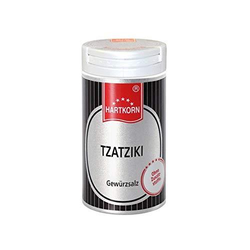 Tzatziki Gewürz - 54 g im Aluminium Gewürzstreuer von Hartkorn - wiederverschließbar und wiederbefüllbar