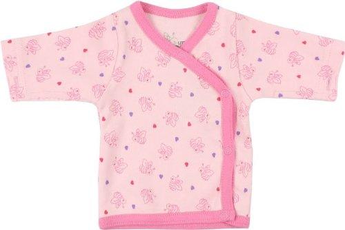 Fixoni bébé prématuré fille, t-shirt manches longues Little Bee, rose, 3142502