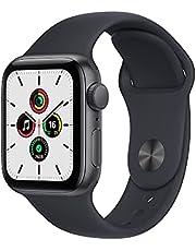 Apple Watch SE(GPSモデル)- 40mmスペースグレイアルミニウムケースとミッドナイトスポーツバンド - レギュラー