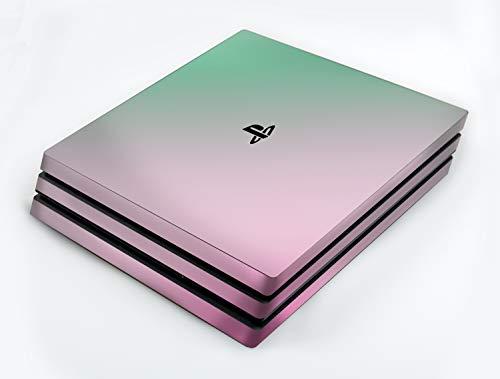 atFoliX Skin kompatibel mit Sony PlayStation 4 Pro PS4 Pro, Designfolie Sticker (FX-Variochrome-Spectral), Mehrfarbig schillerndes Farbspiel