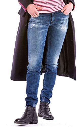 Meltin'Pot - Jeans Monie für Frau, hochdrücken passen, niedriger Bund DE 38