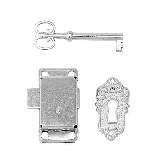 BIlinli Königlichen Stil Britischen Klassischen Vintage Antiken Schubladenschrank Kleiderschrank Schranktür Aluminium Schloss + Schlüssel