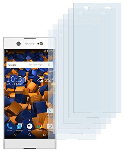 mumbi Schutzfolie kompatibel mit Sony Xperia XA1 Ultra Folie klar, Bildschirmschutzfolie (6X)