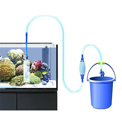 Kingsie 水槽 掃除 水換え ハンドポンプ 水交換 クリーナーポンプ