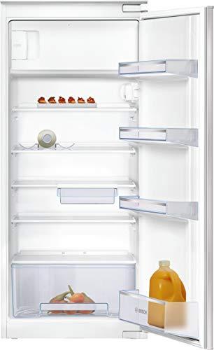 Bosch KIL24NSF0 Serie 2 Einbau-Kühlschrank mit Gefrierfach / F / 122,5 cm Nischenhöhe / 189 kWh/Jahr / 183 L Kühlteil / 17 L Gefrierteil / MultiBox / FreshSense