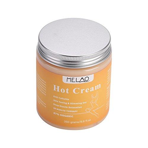 250 g de brûleur de graisse, sérum anti-cellulite de massage, crème amincissante, crème chaude anti-cellulite, crème de massage pour brûleur de graiss