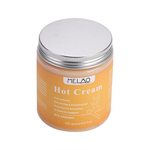 250g Fatburner, Massage Anti-Cellulite-Serum zum Abnehmen, Schlankheitscreme, Cellulite Hot Cream, Fatburner-Massagecreme zur Straffung des Hautformers