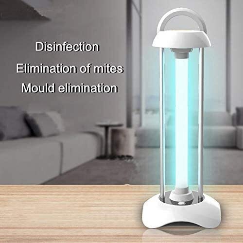 Sterilisieren Lampe UV-Mini Haushalt Ozon Removable Mite-Lampe (Farbe: A) 1yess (Color : A)