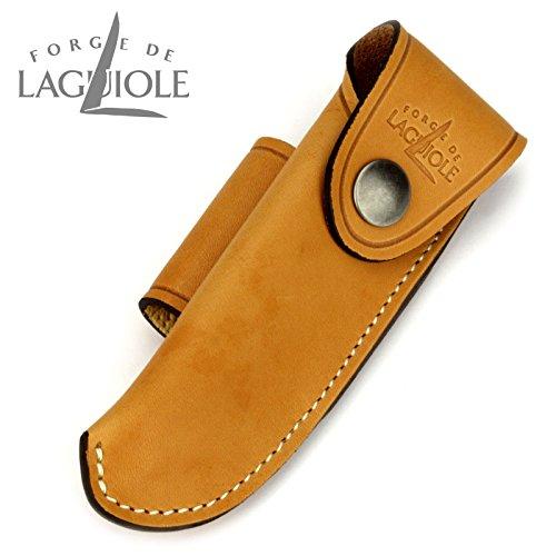 Forge De Laguiole B3F - Gürteletui aus braunem Leder für EIN Laguiole Taschenmesser 11/12 cm
