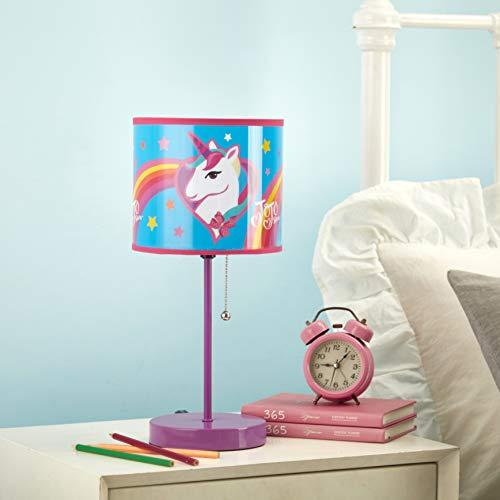 JoJo Unicorn Stick Table Lamp, Pink