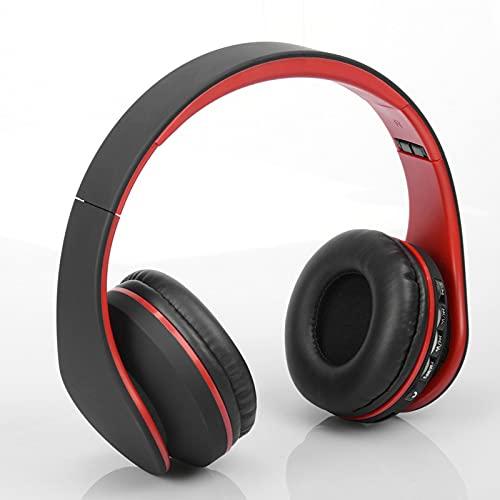 KDJFHDJ Auriculares inalámbricos, Auriculares inalámbricos Bluetooth a Prueba de Agua con Estuche de Carga de micrófono para Viajes de Entrenamiento Red