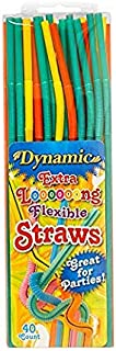 Dynamic Extra Long Straw, 40-Count (Pack of 24)