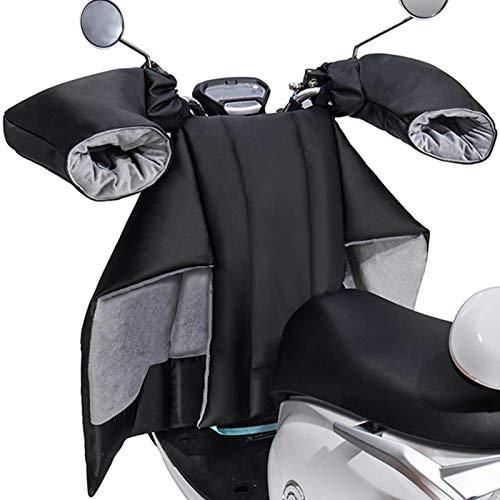 Dream-cool Beinschutz Roller Winter, Beinschutz Mit Lenkerhandschuhen, Warmer Beinschutz Für Roller-Elektroautos, Motorrad Beinschutz, Wasserdichter Und Winddichter