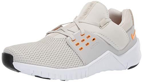Nike Free Metcon 2, Zapatillas de Deporte para Hombre, Multicolor (Light Bone/Orange Peel/White/Black 1), 46 EU