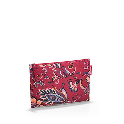 reisenthel case 1 LR3067 paisley ruby – Kosmetiktasche und Ordnungshelfer für unterwegs mit Reißverschluss – B 24 x H 17 x T 0 cm
