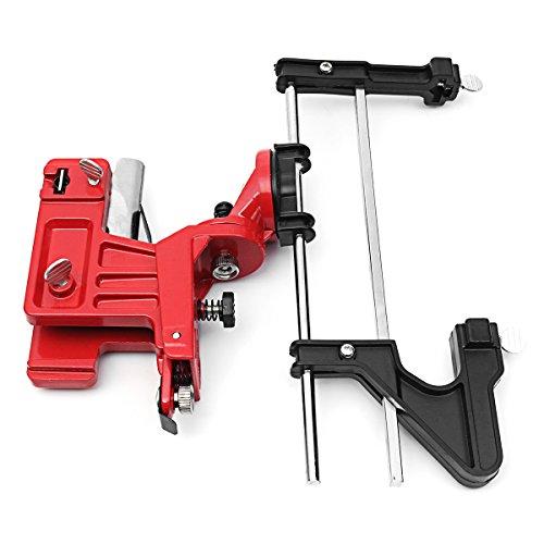 LTEFTLFL Manual Chain Saw Sharpener Grinder Bar Mounted Filing Clamp Tools Kit