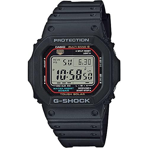 Casio G-Shock The Origin Digital Funk-Solar-Herrenuhr Schwarz GW-M5610U-1ER