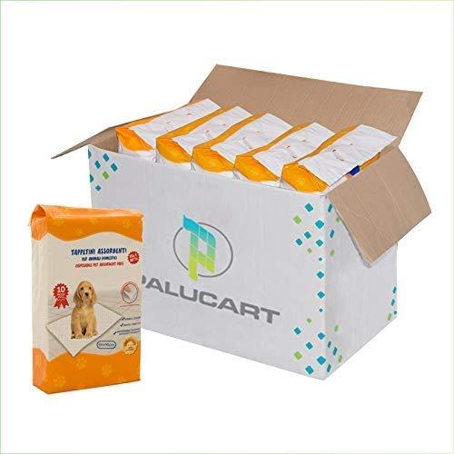 VIRSUS tappetini igienici per Cane 60x90 400 Pezzi traversine Cani Animali Domestici con Adesivo Anche per Gatti Anti Odore