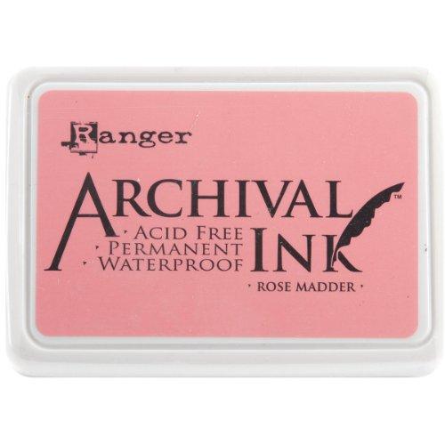 Ranger AIP-30638 Archival Inkpad, Rose Madder