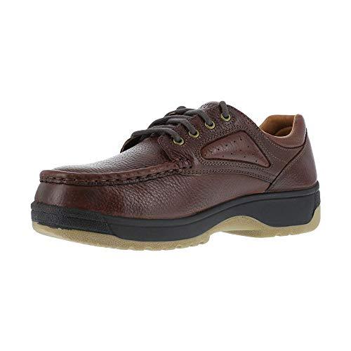 FE244 Florsheim Women's Eurocasual Safety Shoes - Dark Brown - 9.0 - D