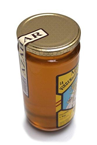 Miel de azahar natural tarros de cristal 1 kg marca La Virgen de Extremadura