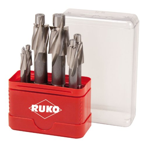 Ruko 102453 Piloted Counterbore Set DIN 373 High-Speed Steel M3 - M10