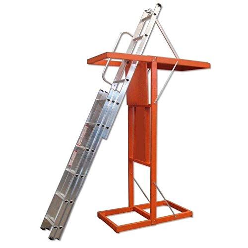Escada Alumínio Alçapão Sotão 03 Lances Alulev