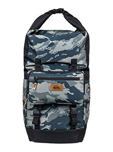 Quiksilver Men's SEA STASH PLUS BACKPACK, Camo black, 1SZ