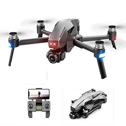 2021 Nuovo Drone 3 km 6k HD Meccanico a 2 Assi Gimbal Camera Drone 5G WiFi GPS FPV 30 Minuti Drone RC Quadcopter,2*Battery