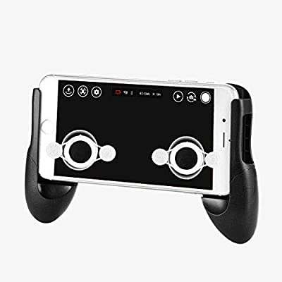 Tello Accesssories Gamepad Hand Grip Clip Phone Game Control Mount Bracket Holder Handle + Joystick - Suitable for All 4.5-6.5 inches Smartphone Game (iPhone X/8/8/7/6 Plus, Samsung) by asiatoy