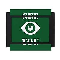 さよなら目を見つめる デスクトップフォトフレーム画像ブラックは、芸術絵画7 x 9インチ
