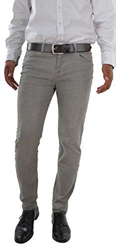 Marken Outlet Kriftel -  Jeans - Zip - Uomo Grigio Grigio