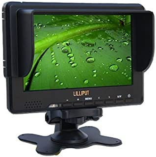 "LILLIPUT 7"" 667GL-70NP/H/Y TFT LCD Monitor w/ HDMI & YPbPr Input For HD Camera+ Sun Shade + Gifts"