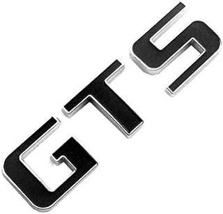 EMBLEM GTS FOR PORSCHE Panamera CAYENNE AUDI R8 Mitsubishi Lancer Galant DODGE VIPER FORD MUSTANG Suzuki Kizashi CHROME WITH BLACK REPLACEMENT