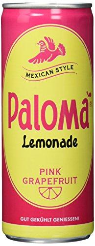 PALOMA PINK GRAPEFRUIT Lemonade mit Kohlensäure, 24er Pack, EINWEG (24 x 250 ml)