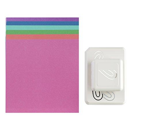 Martha Stewart Crafts-Corte Y Fold Abstracto Corazón Perforadora Machine, Metal, Gris
