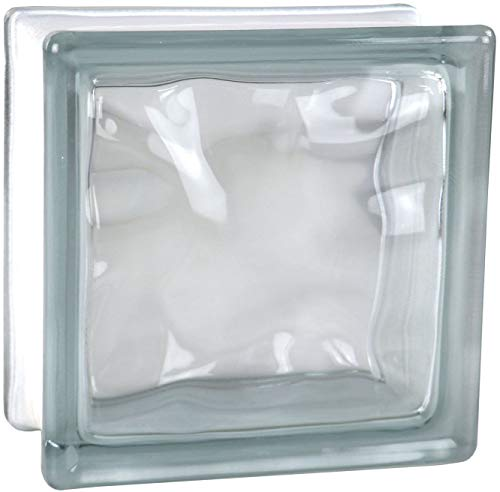5 Pezzi FUCHS Vetromattone Nuvola Trasparente 14,5X14,5X8 Cm